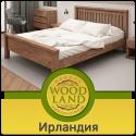 """Крепкая кровать из массива дерева """"Ирландия"""""""