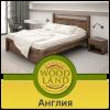 Кровать деревянная из дуба Англия