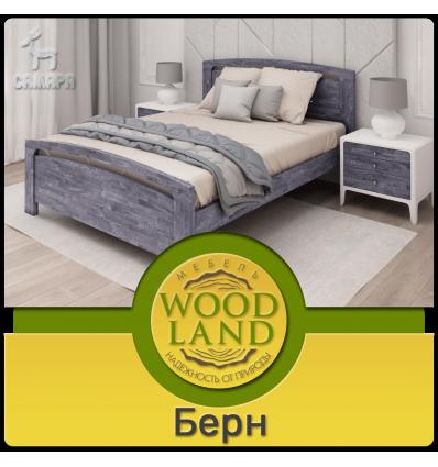 Кровать из массива дуба Берн
