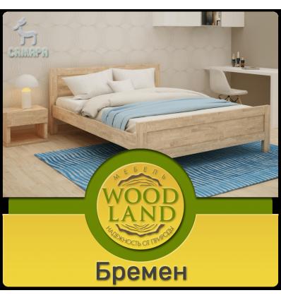 Кровать из массива дуба - Бремен