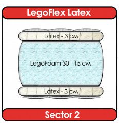 Матрас LegoFlex Latex Sector 2
